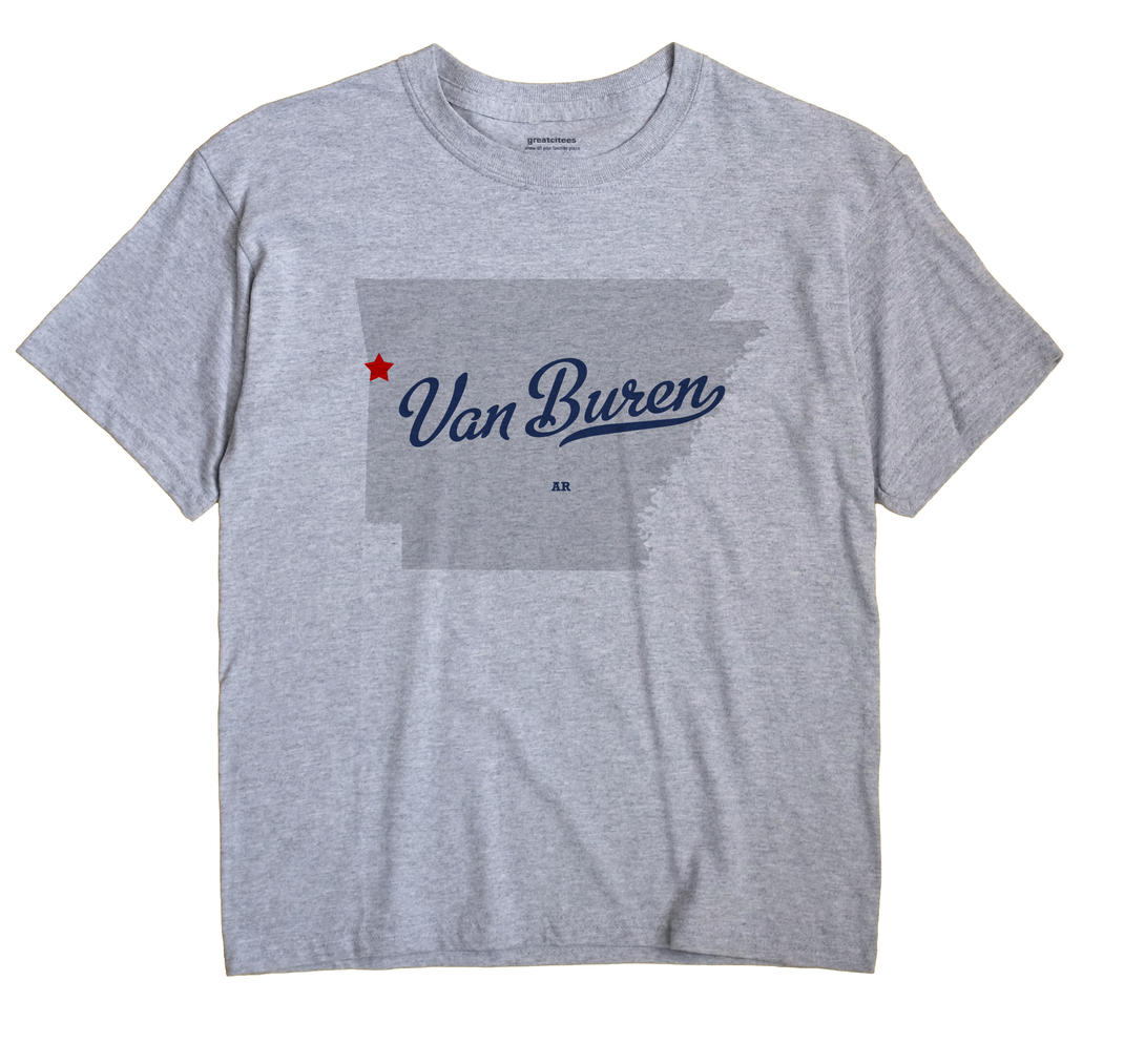 Van Buren, Crawford County, Arkansas AR Souvenir Shirt