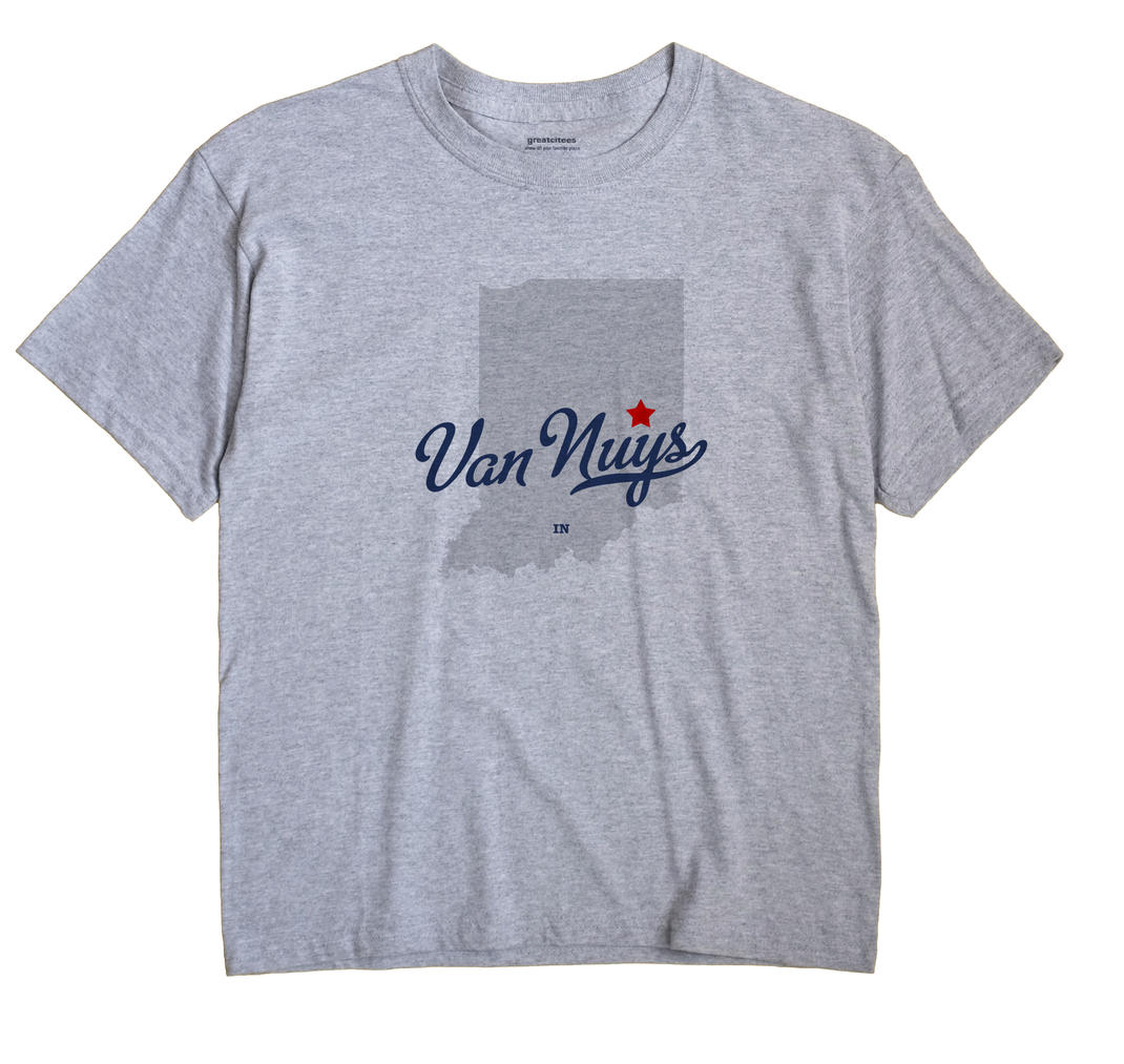 Van Nuys, Indiana IN Souvenir Shirt