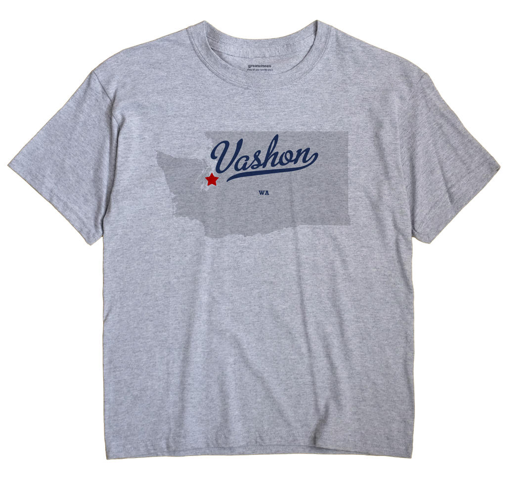 Vashon, Washington WA Souvenir Shirt