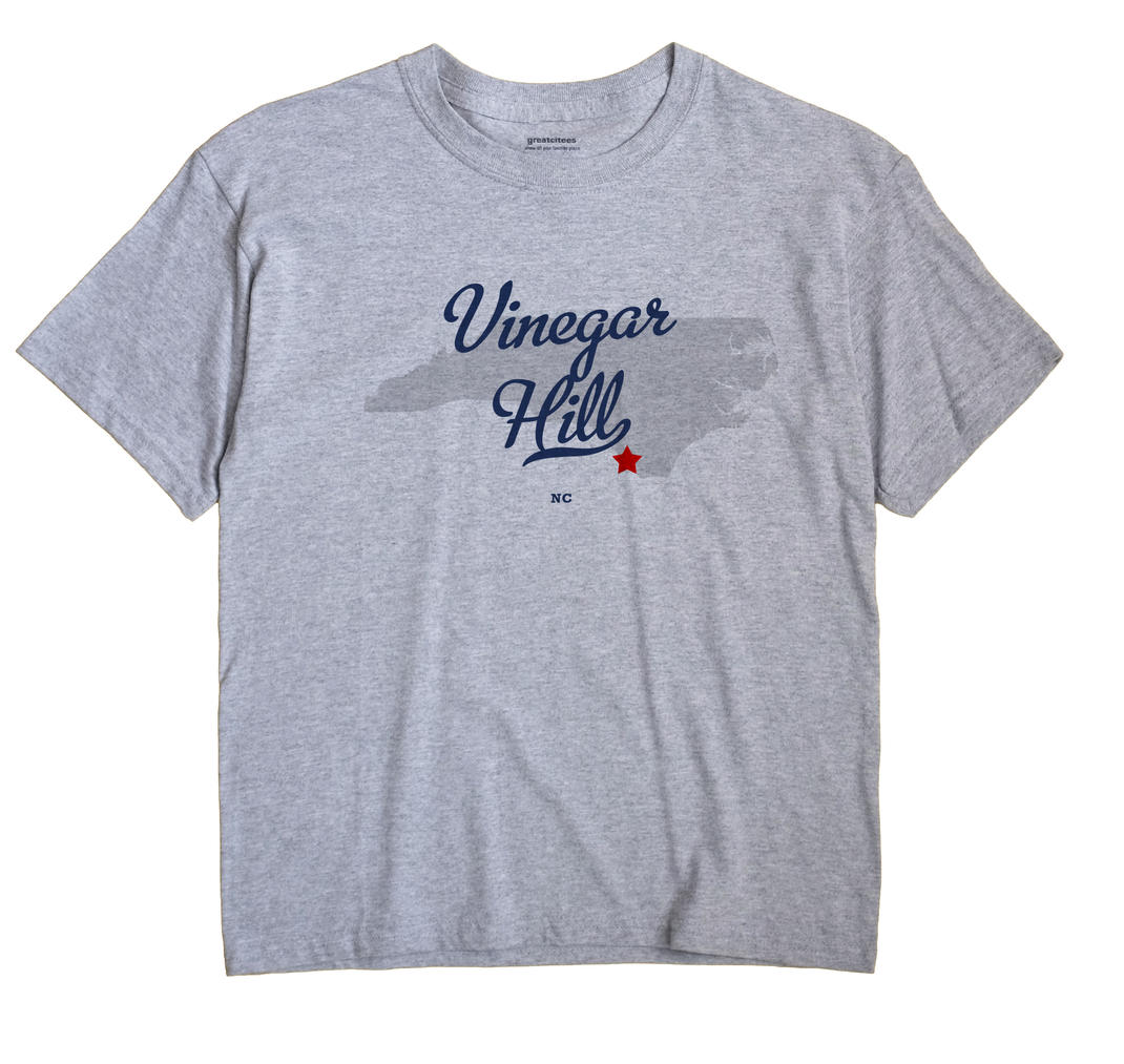 Vinegar Hill, North Carolina NC Souvenir Shirt