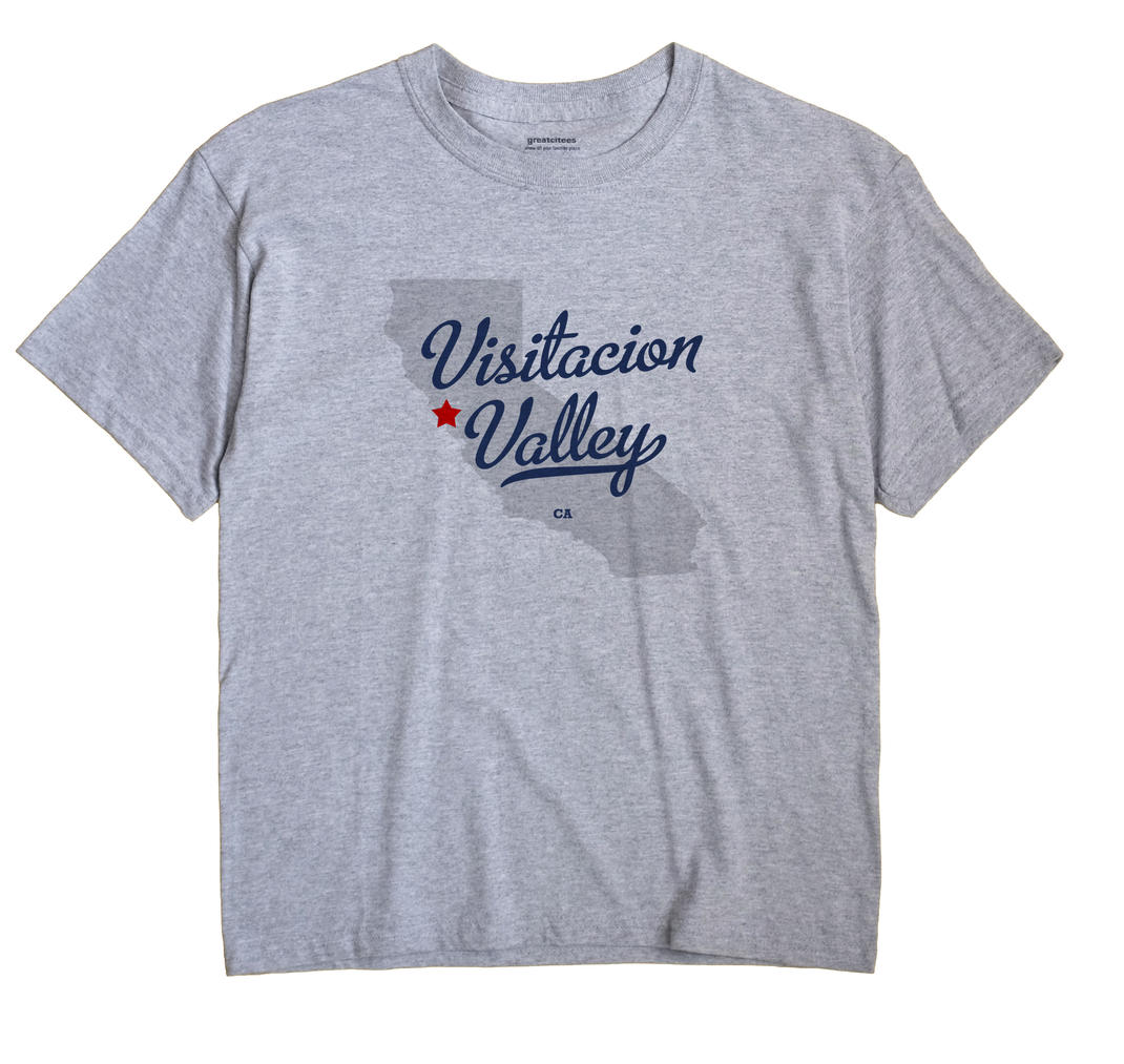 Visitacion Valley, California CA Souvenir Shirt