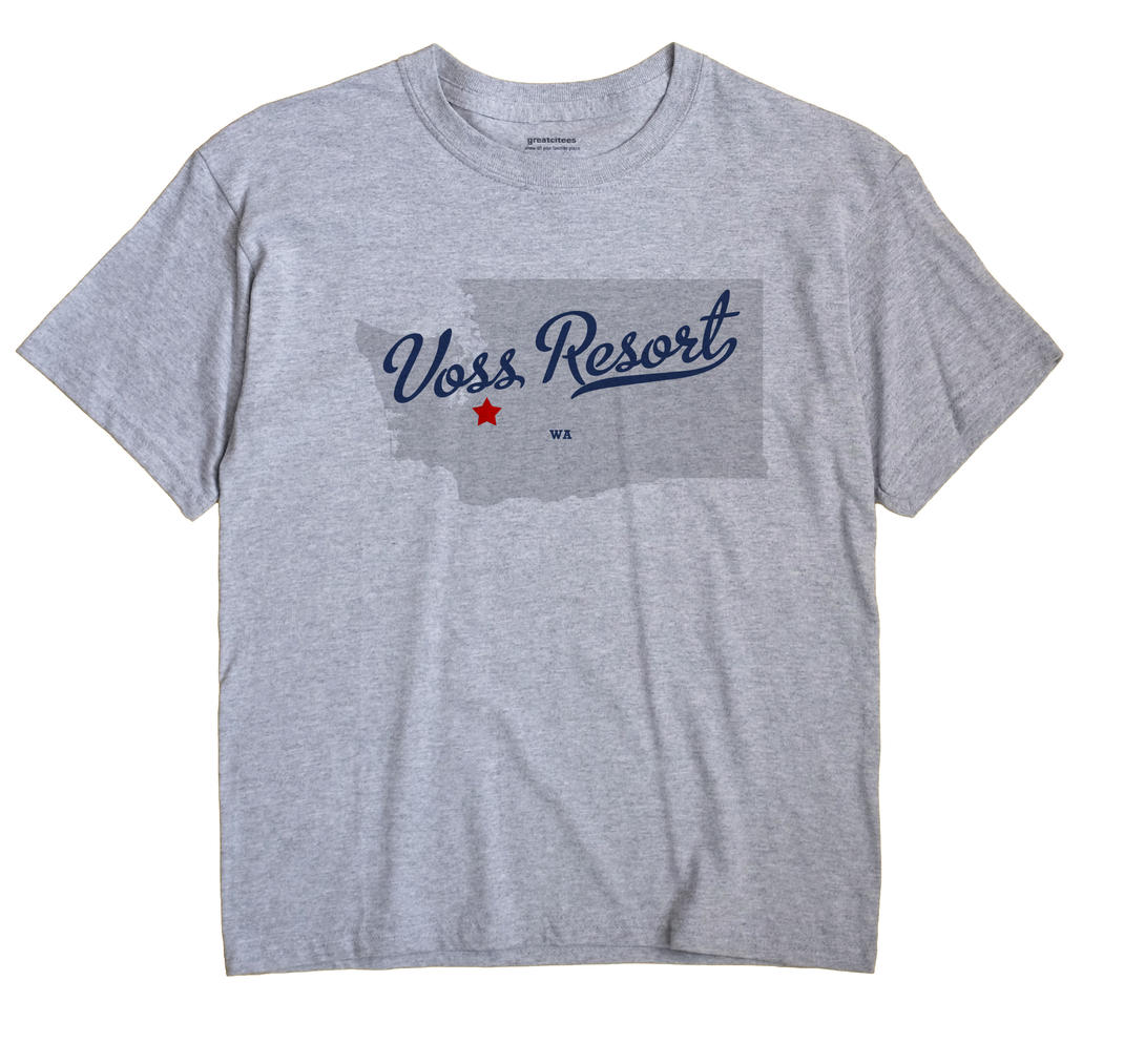 Voss Resort, Washington WA Souvenir Shirt