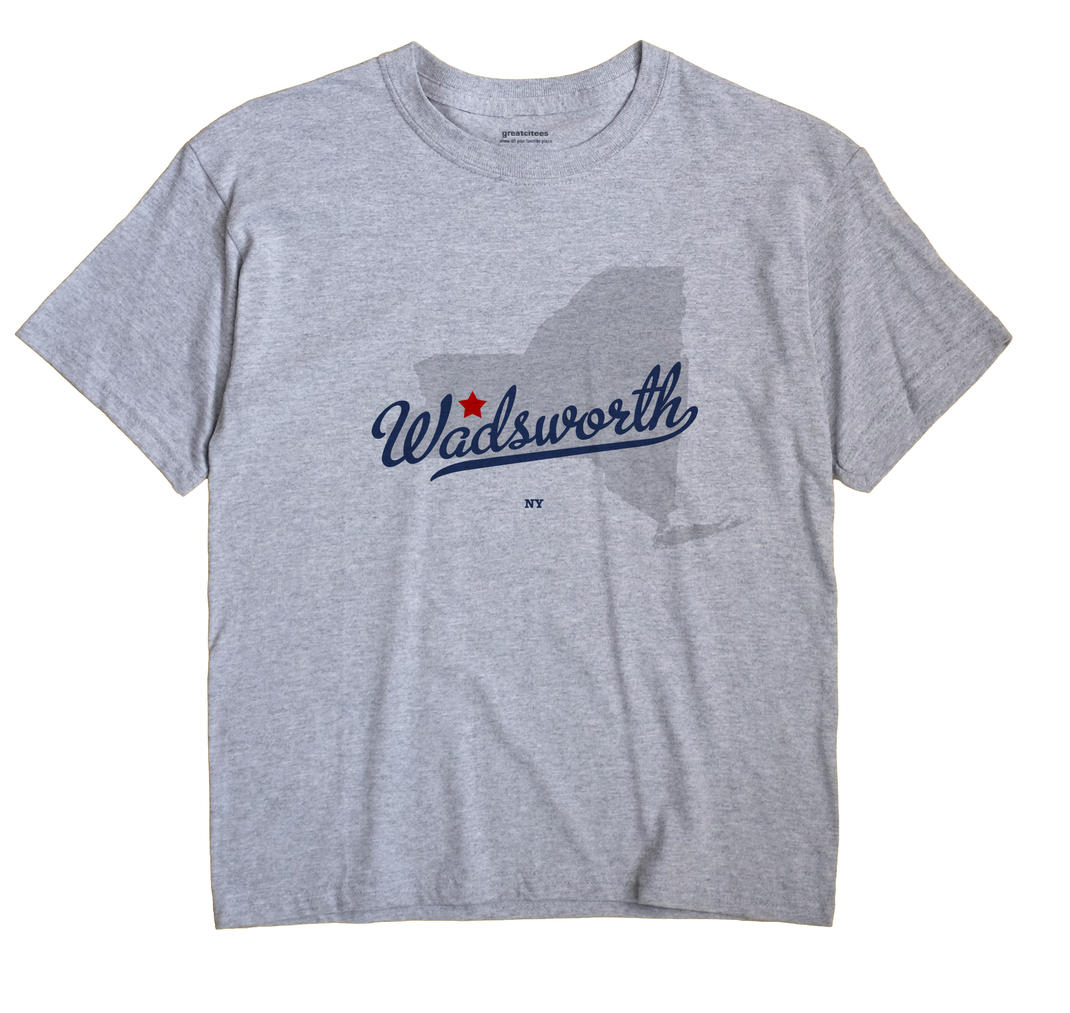 Wadsworth, New York NY Souvenir Shirt