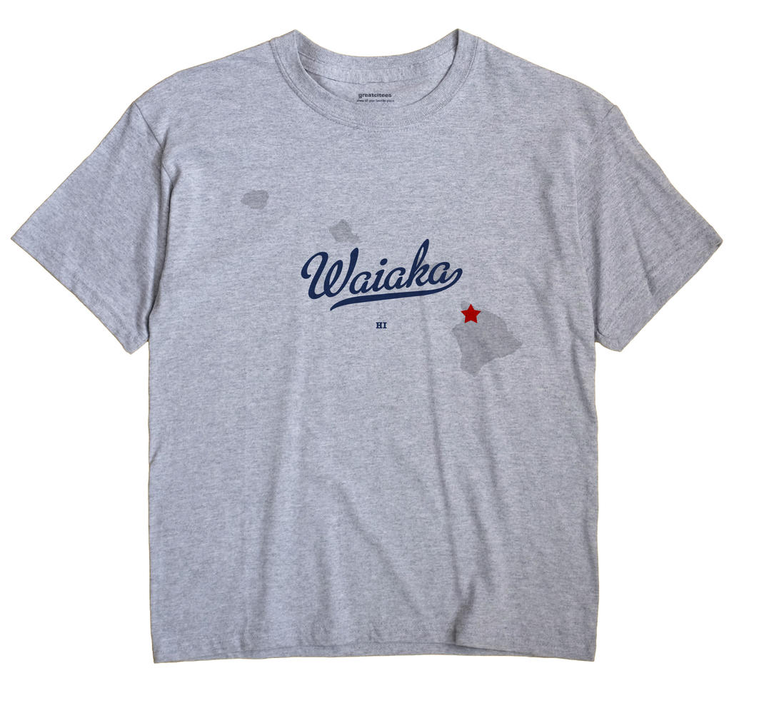Waiaka, Hawaii HI Souvenir Shirt