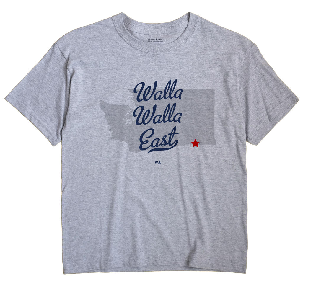 Walla Walla East, Washington WA Souvenir Shirt