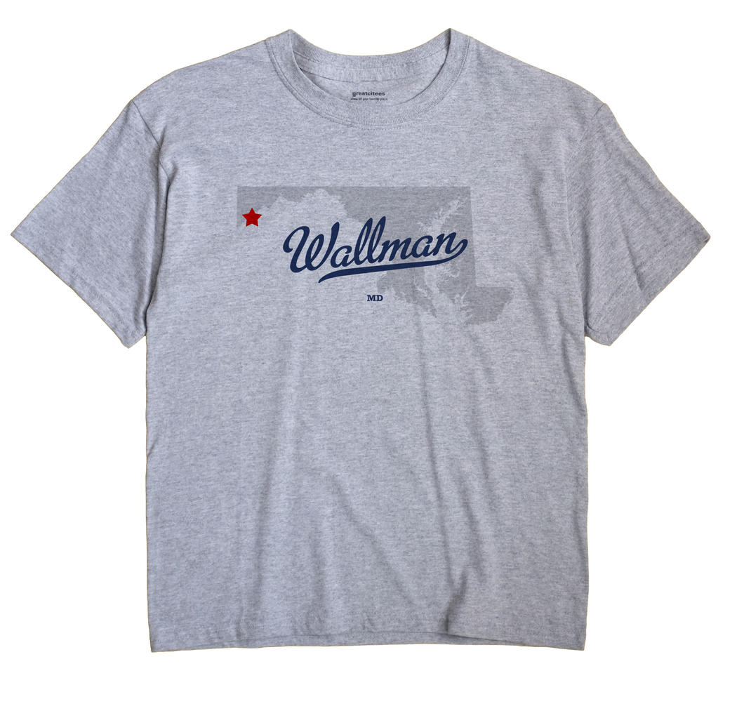 Wallman, Maryland MD Souvenir Shirt