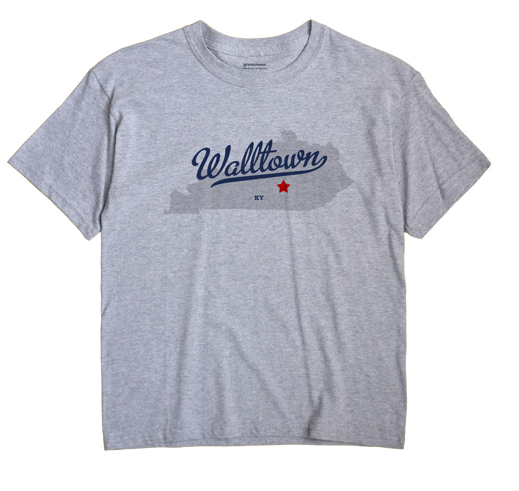 Walltown, Kentucky KY Souvenir Shirt
