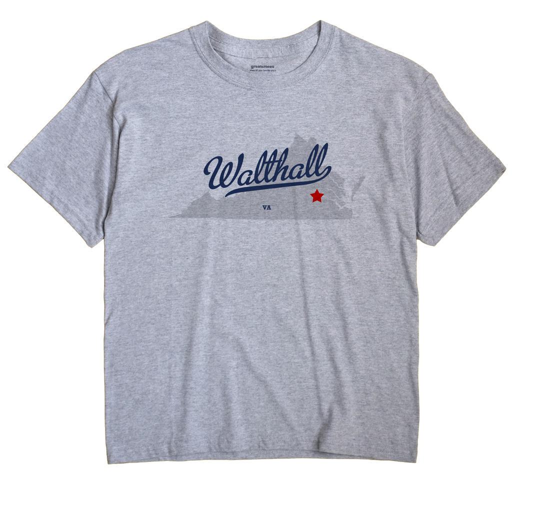 Walthall, Virginia VA Souvenir Shirt