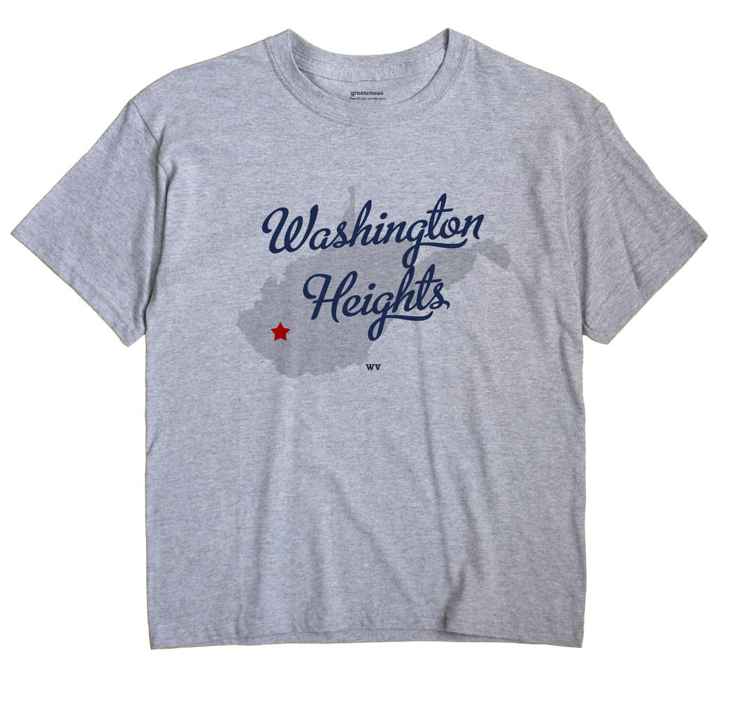 Washington Heights, West Virginia WV Souvenir Shirt