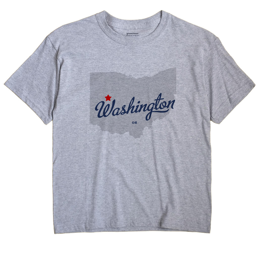 Washington, Logan County, Ohio OH Souvenir Shirt