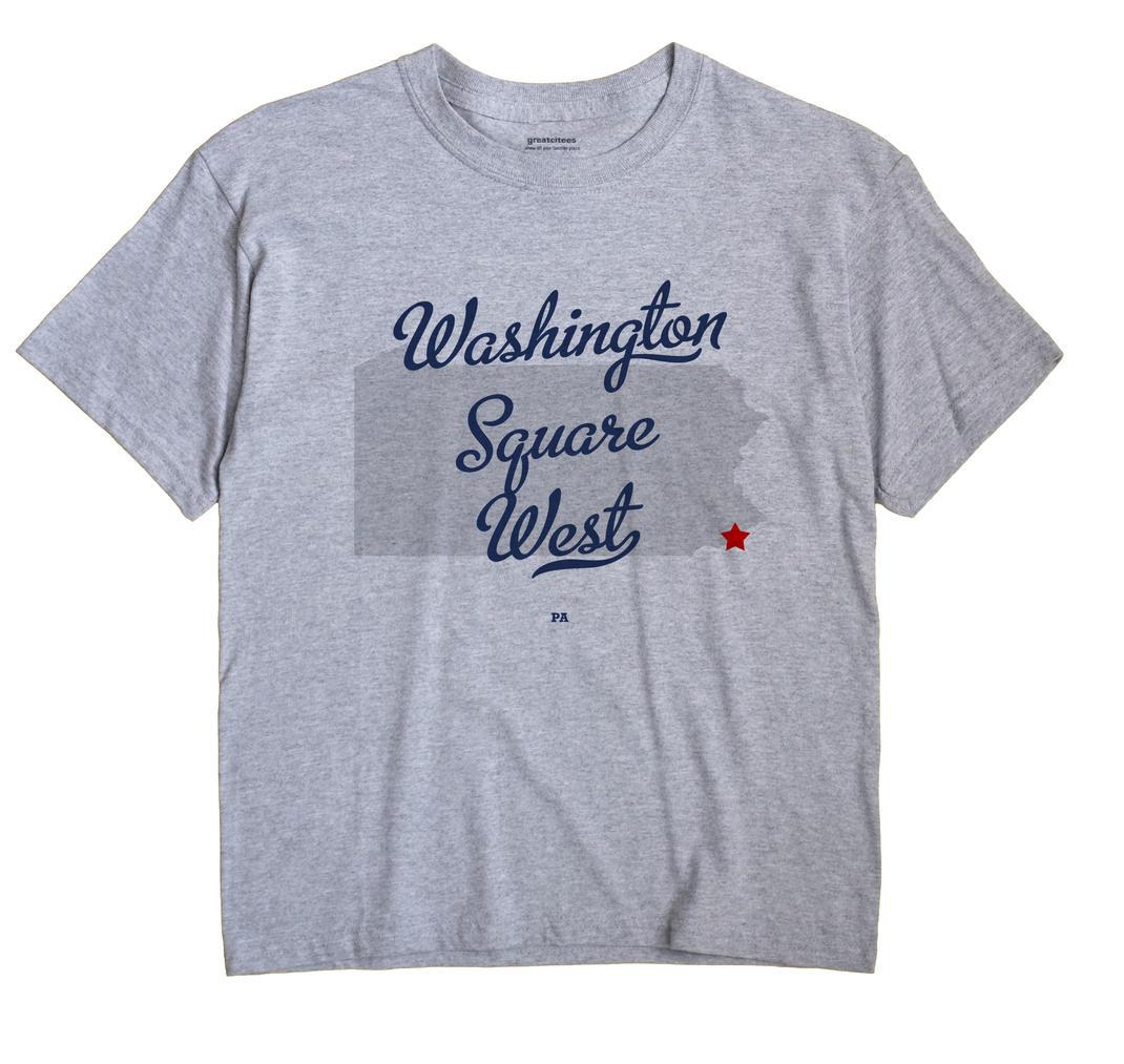 Washington Square West, Pennsylvania PA Souvenir Shirt