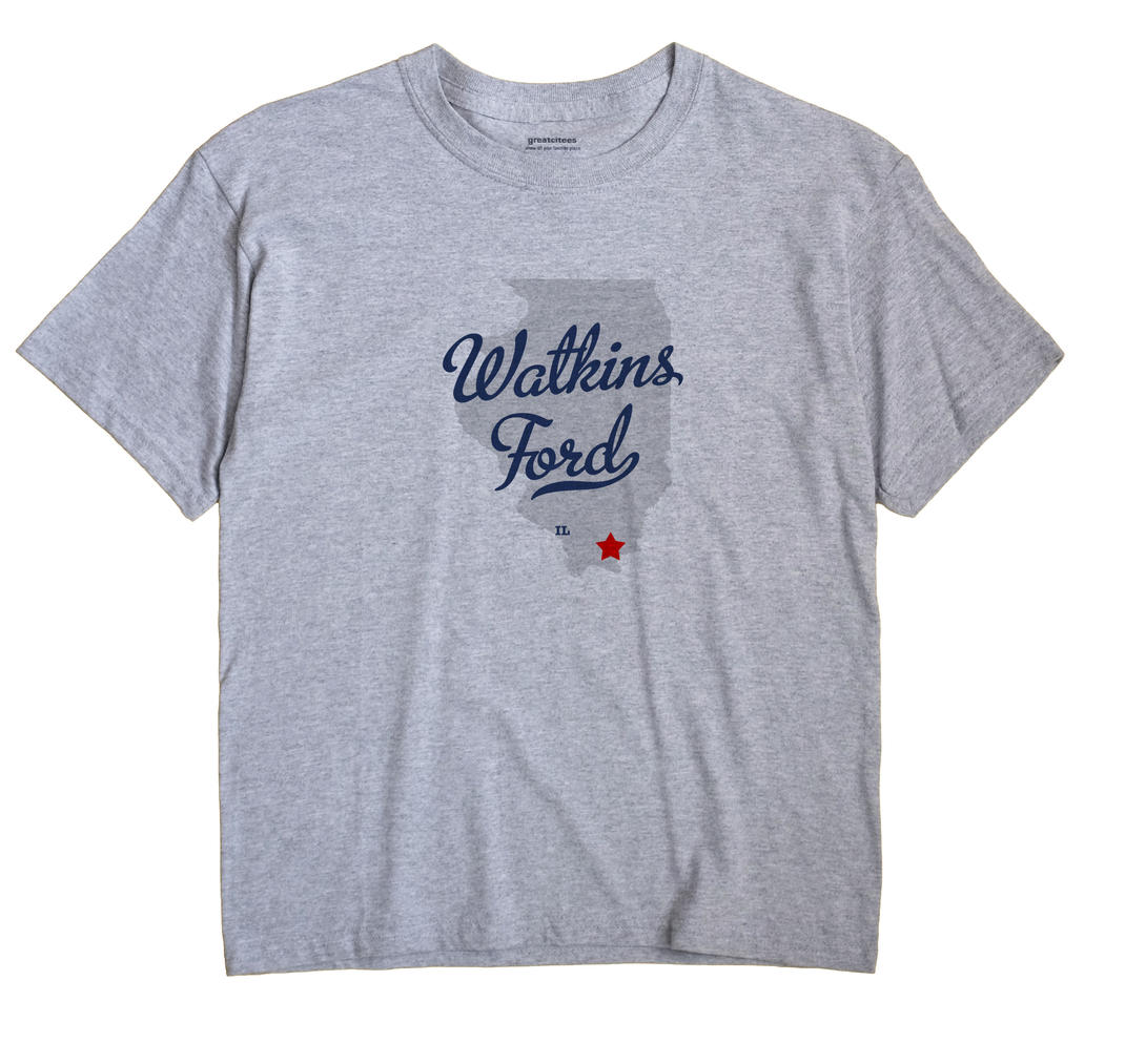 Watkins Ford, Illinois IL Souvenir Shirt