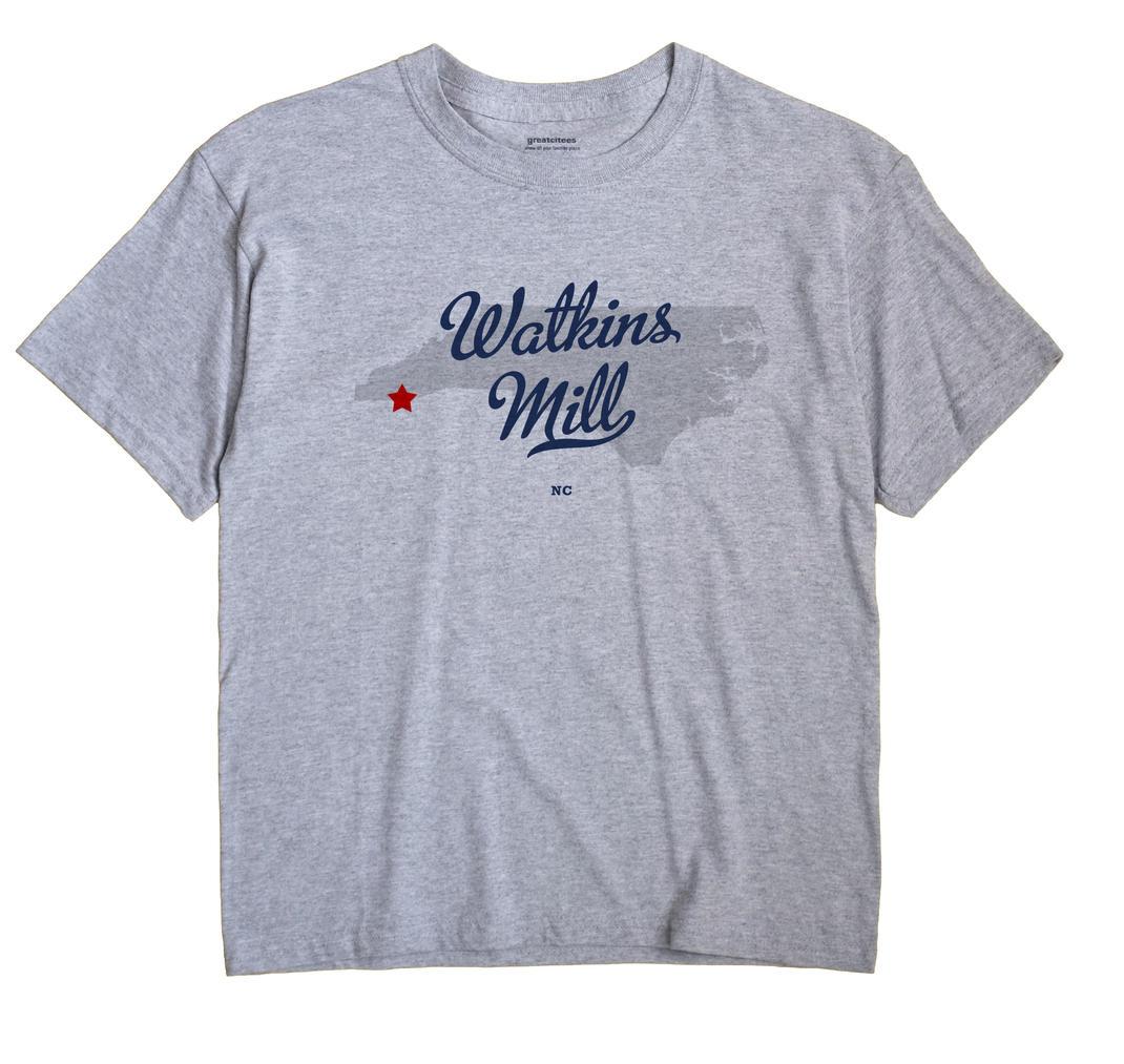 Watkins Mill, North Carolina NC Souvenir Shirt