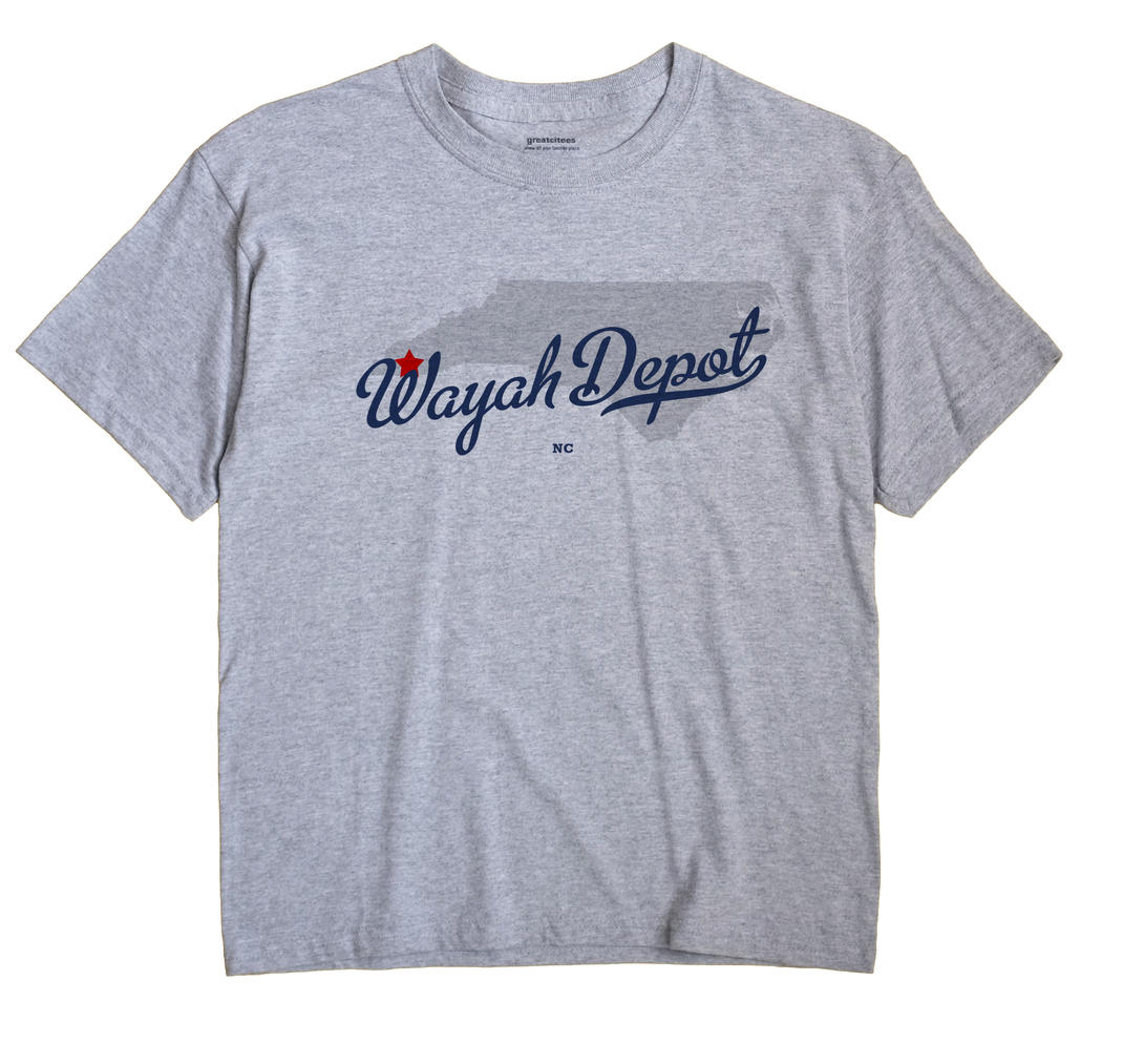 Wayah Depot, North Carolina NC Souvenir Shirt