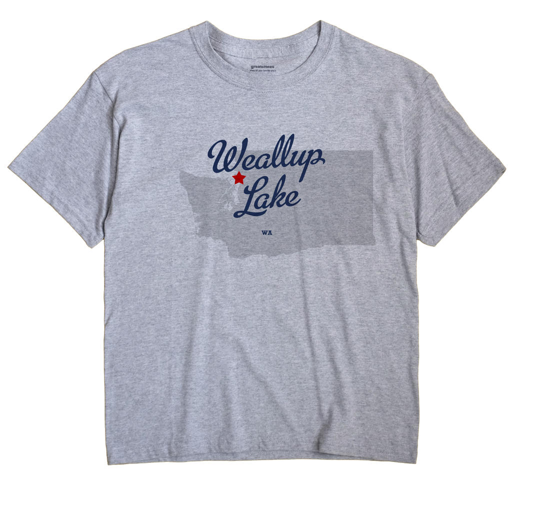Weallup Lake, Washington WA Souvenir Shirt