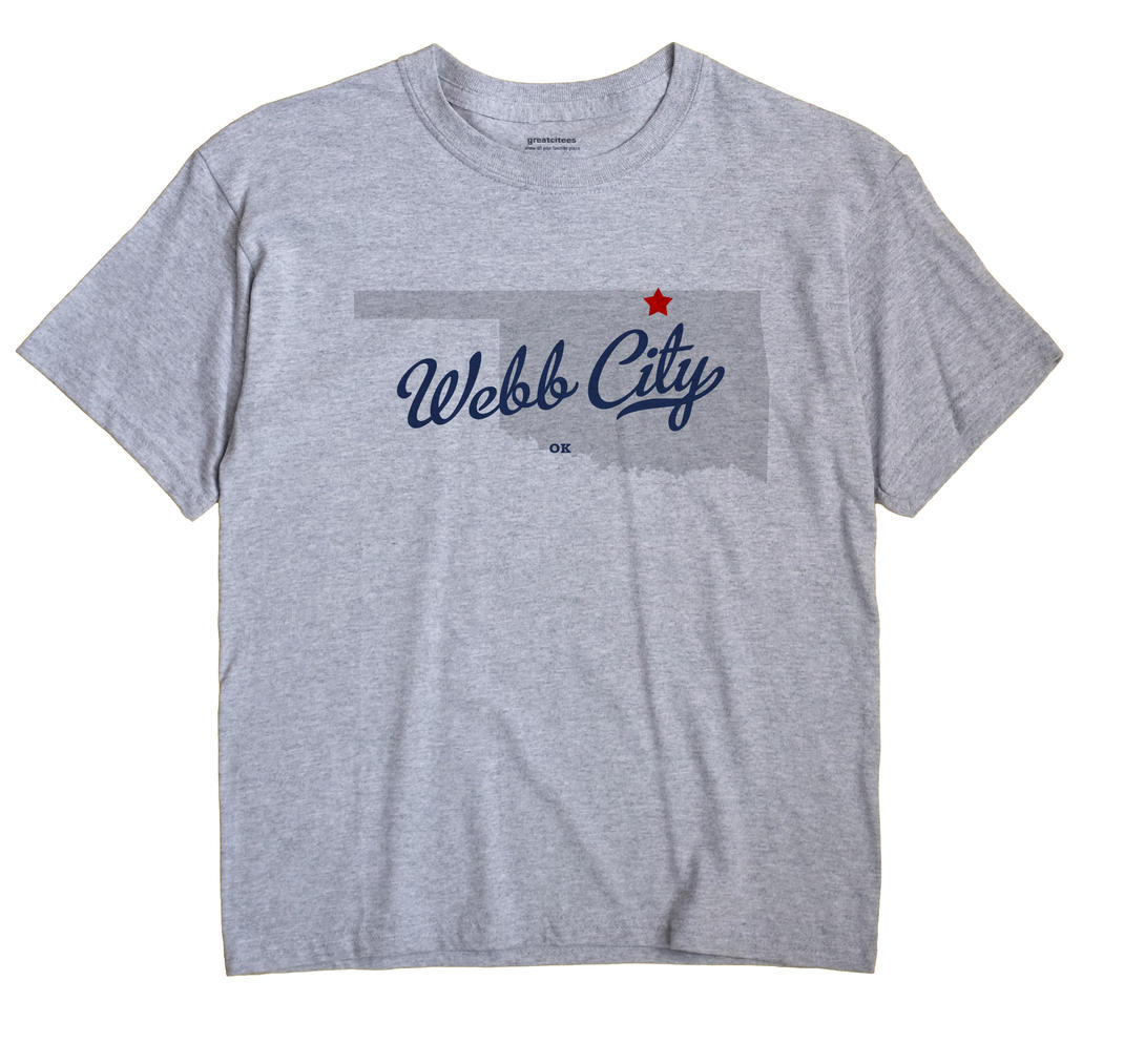 Webb City, Oklahoma OK Souvenir Shirt
