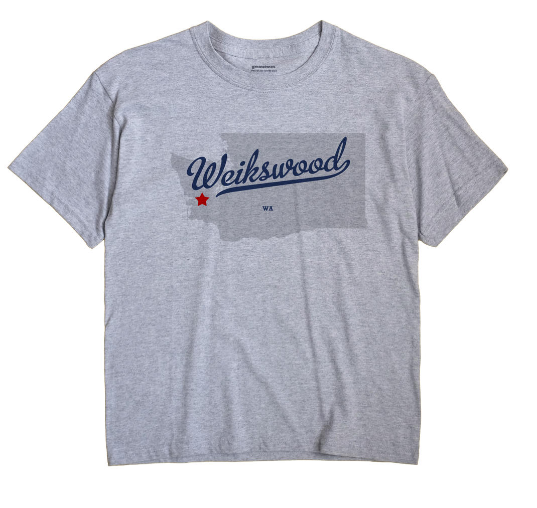 Weikswood, Washington WA Souvenir Shirt