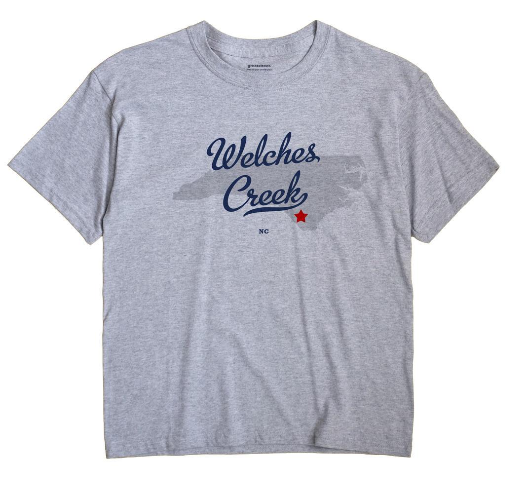 Welches Creek, North Carolina NC Souvenir Shirt