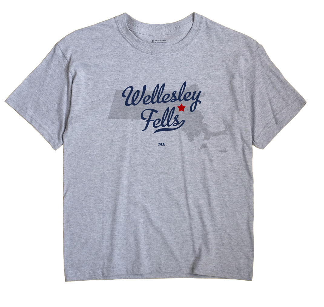 Wellesley Fells, Massachusetts MA Souvenir Shirt