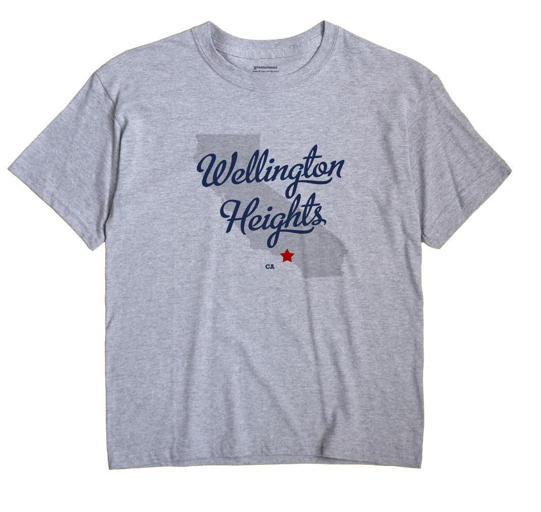 Wellington Heights, California CA Souvenir Shirt