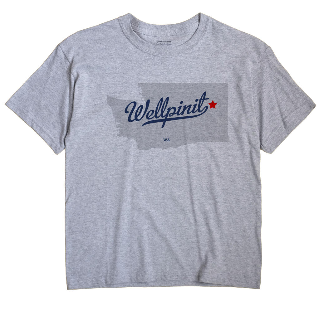 Wellpinit, Washington WA Souvenir Shirt