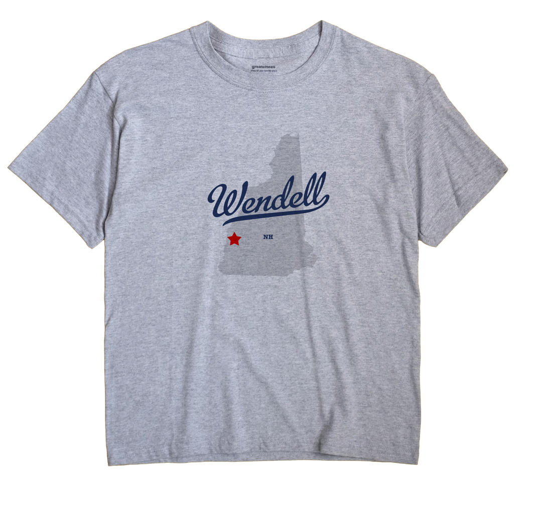 Wendell, New Hampshire NH Souvenir Shirt