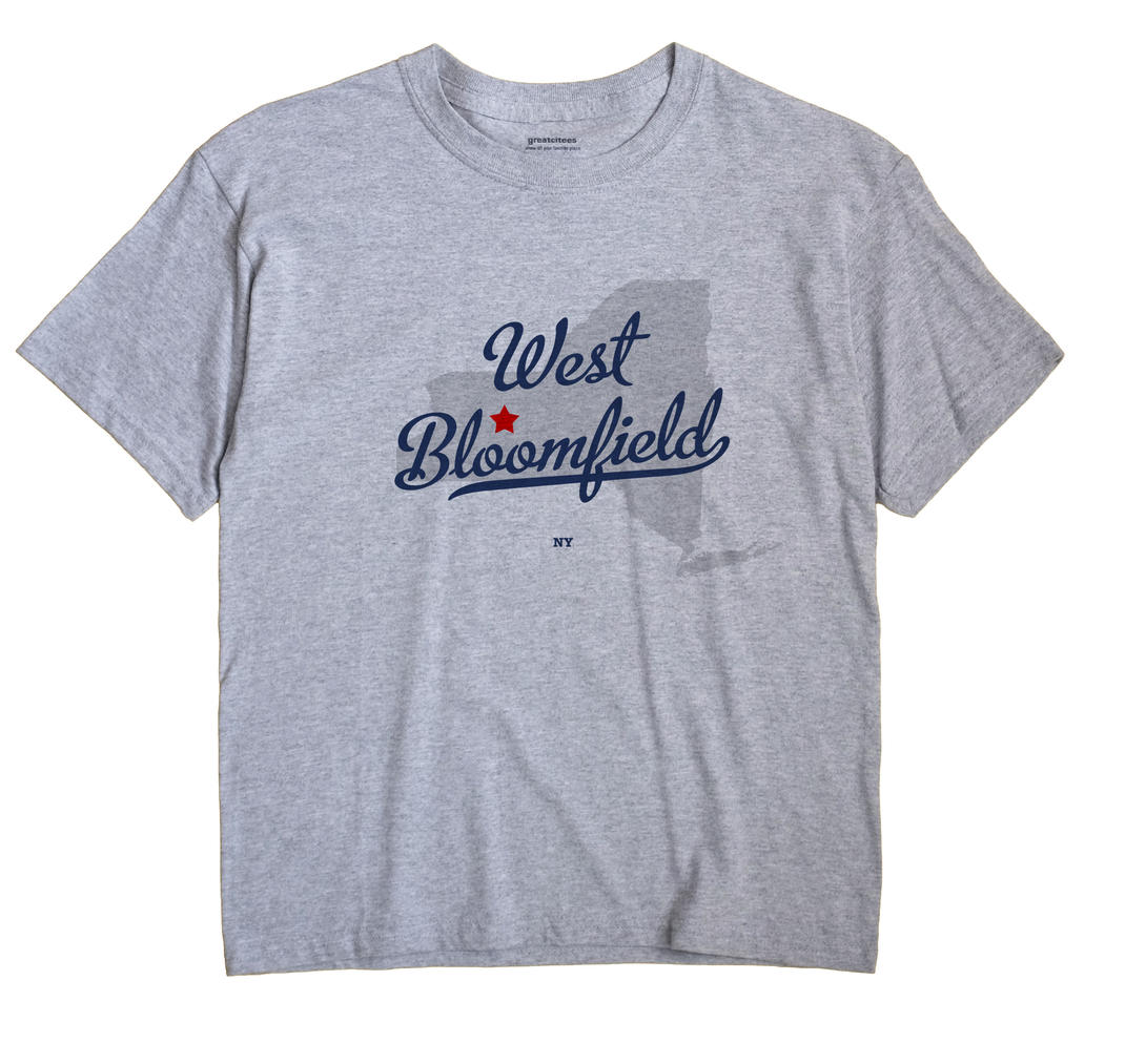West Bloomfield, New York NY Souvenir Shirt