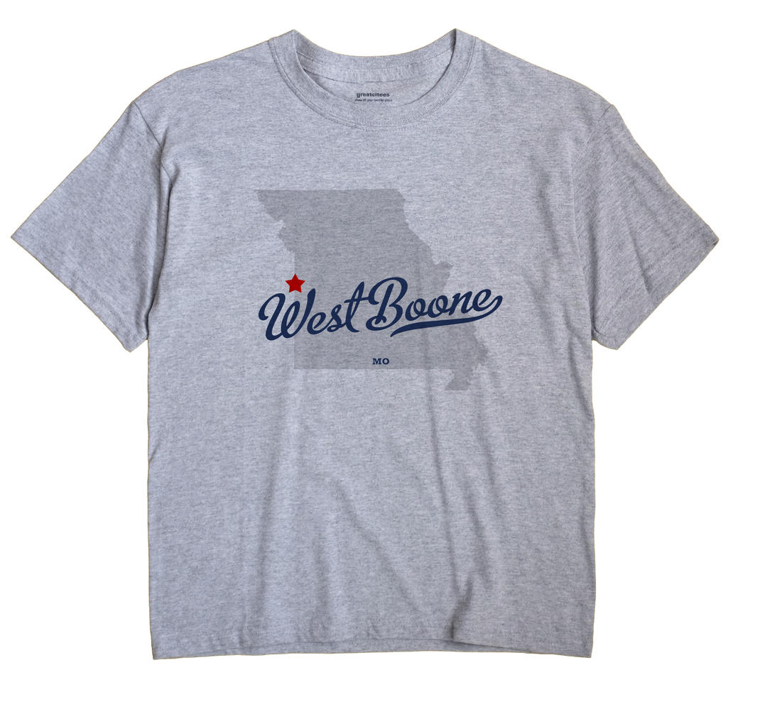 West Boone, Missouri MO Souvenir Shirt