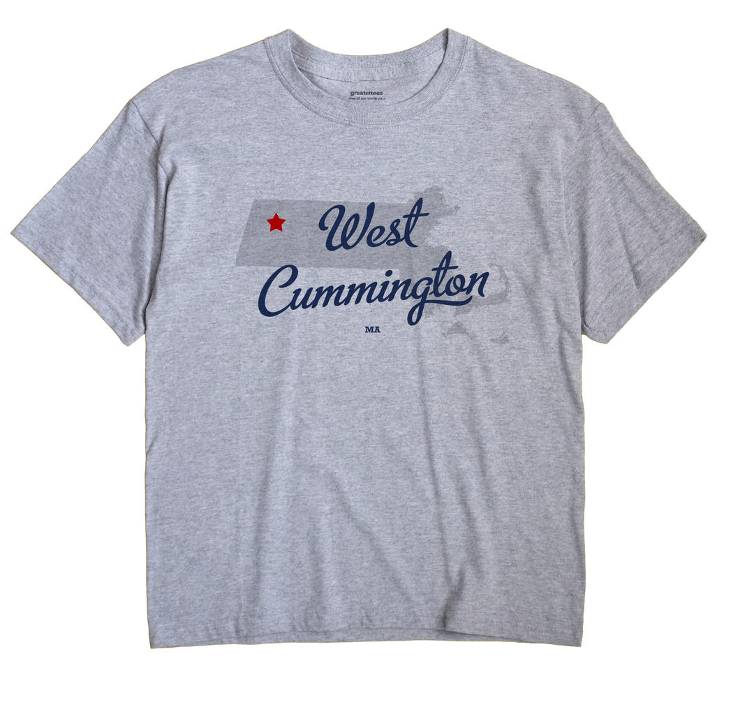 West Cummington, Massachusetts MA Souvenir Shirt
