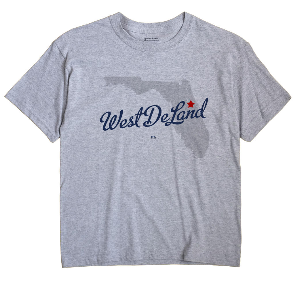 West DeLand, Florida FL Souvenir Shirt