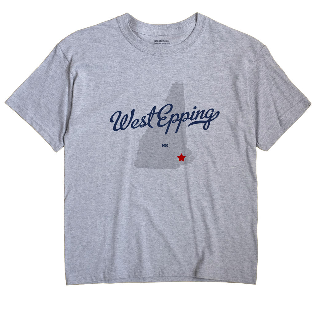 West Epping, New Hampshire NH Souvenir Shirt