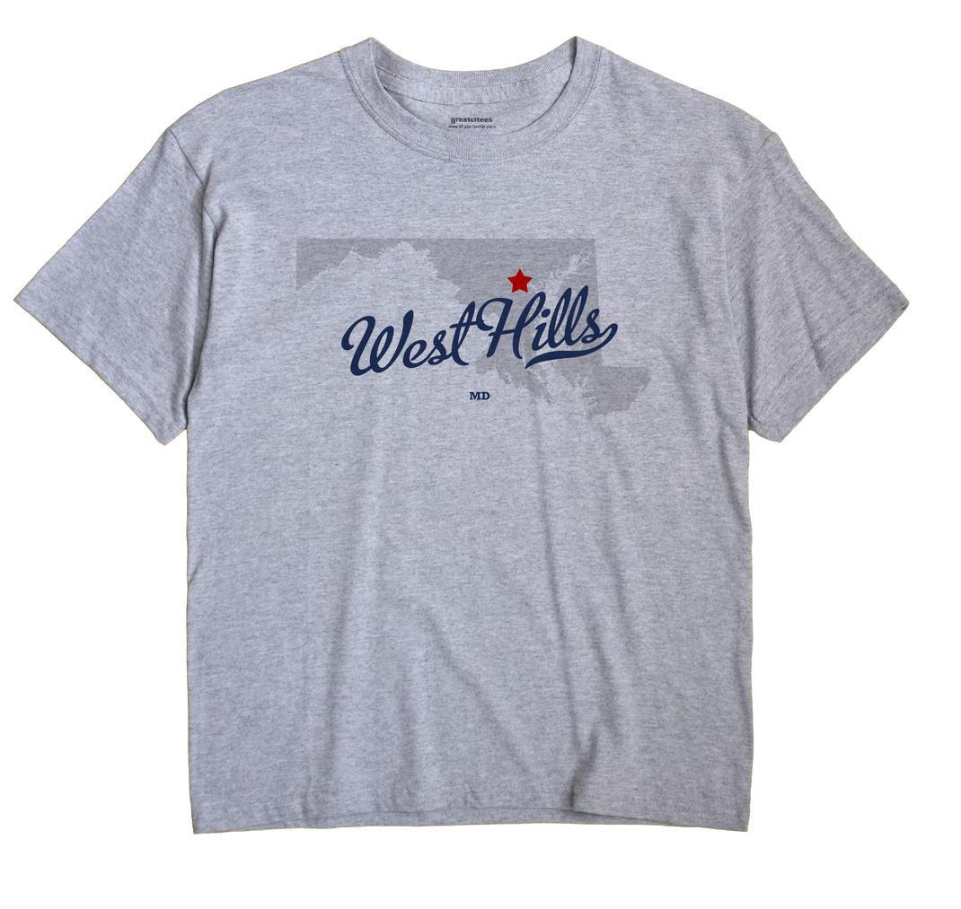 West Hills, Maryland MD Souvenir Shirt