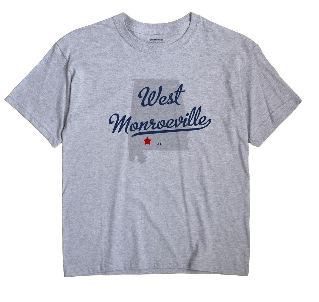 West Monroeville, Alabama AL Souvenir Shirt