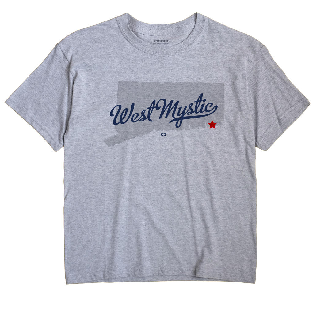 West Mystic, Connecticut CT Souvenir Shirt