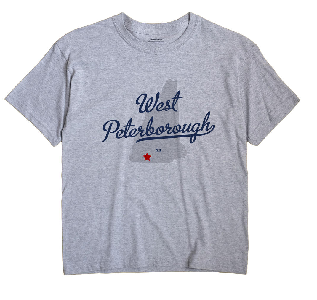 West Peterborough, New Hampshire NH Souvenir Shirt
