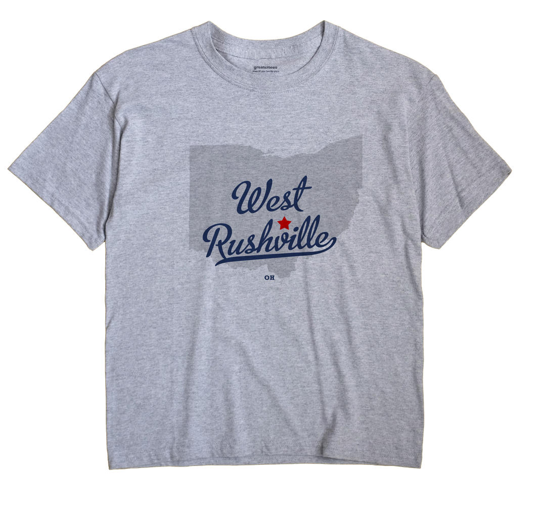 West Rushville, Ohio OH Souvenir Shirt