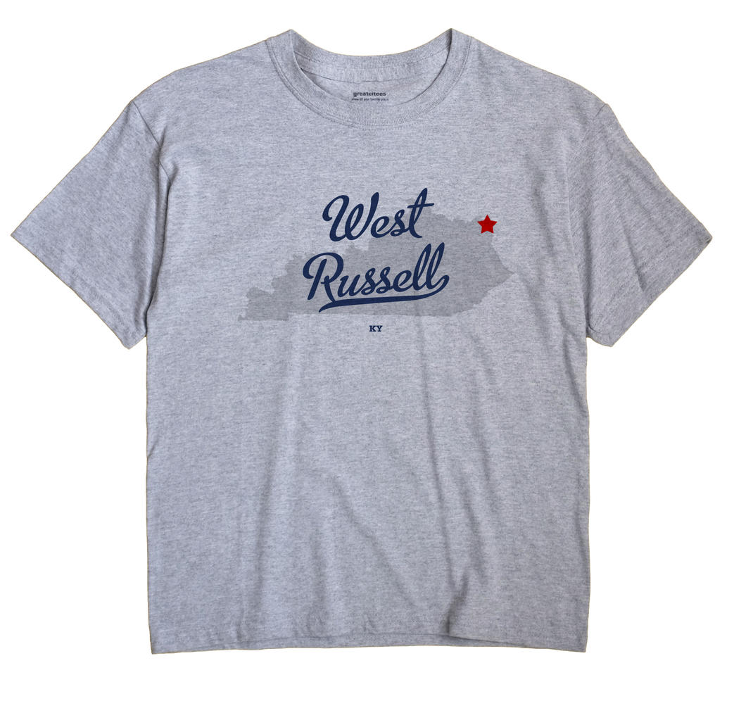 West Russell, Kentucky KY Souvenir Shirt