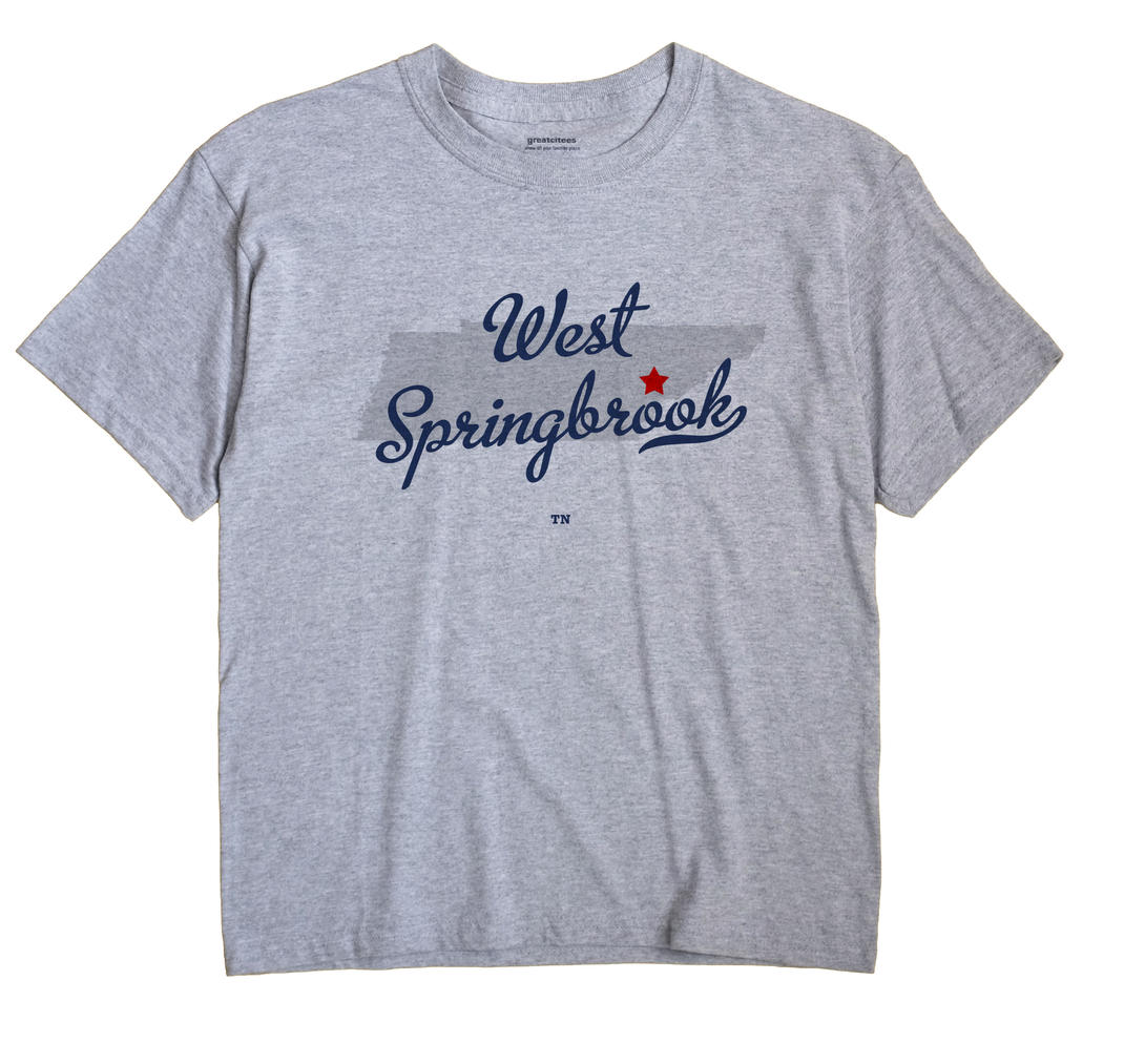 West Springbrook, Tennessee TN Souvenir Shirt