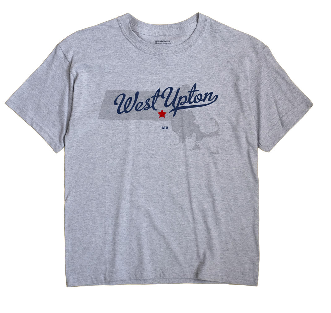 West Upton, Massachusetts MA Souvenir Shirt