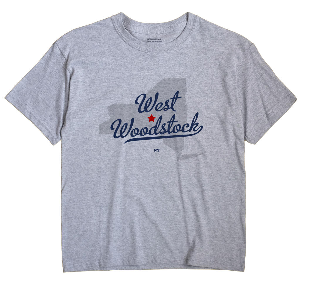 West Woodstock, New York NY Souvenir Shirt