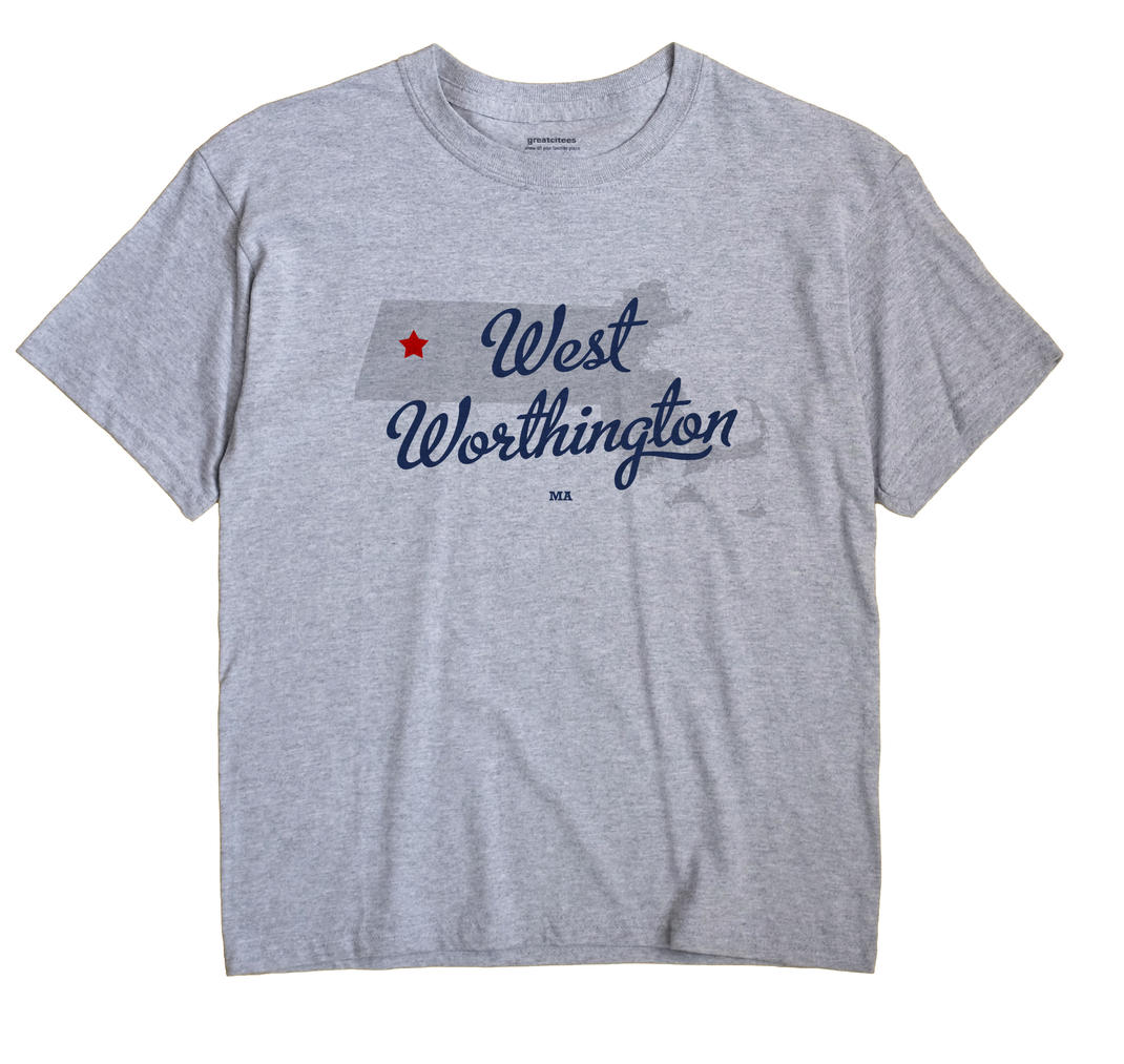 West Worthington, Massachusetts MA Souvenir Shirt