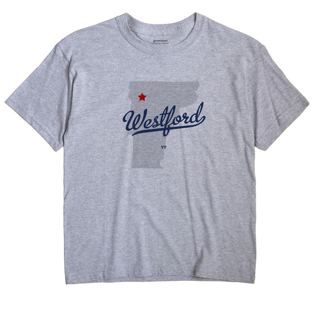 Westford Vermont VT T Shirt METRO WHITE Hometown Souvenir