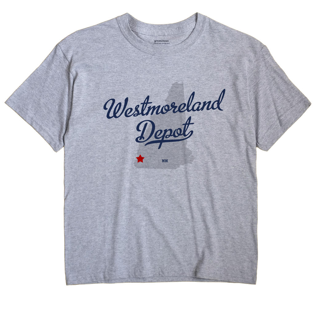 Westmoreland Depot, New Hampshire NH Souvenir Shirt