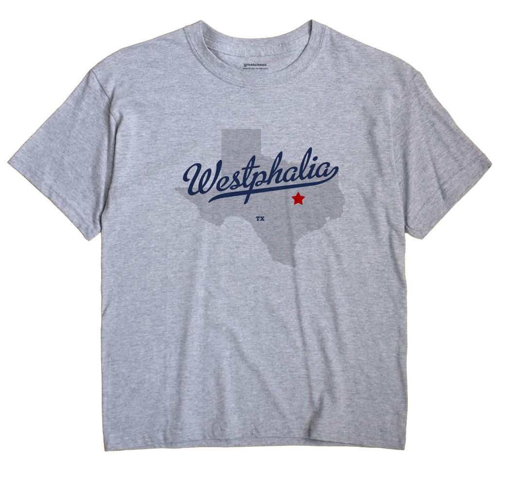 Westphalia, Texas TX Souvenir Shirt