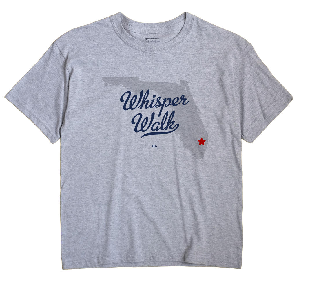Whisper Walk, Florida FL Souvenir Shirt