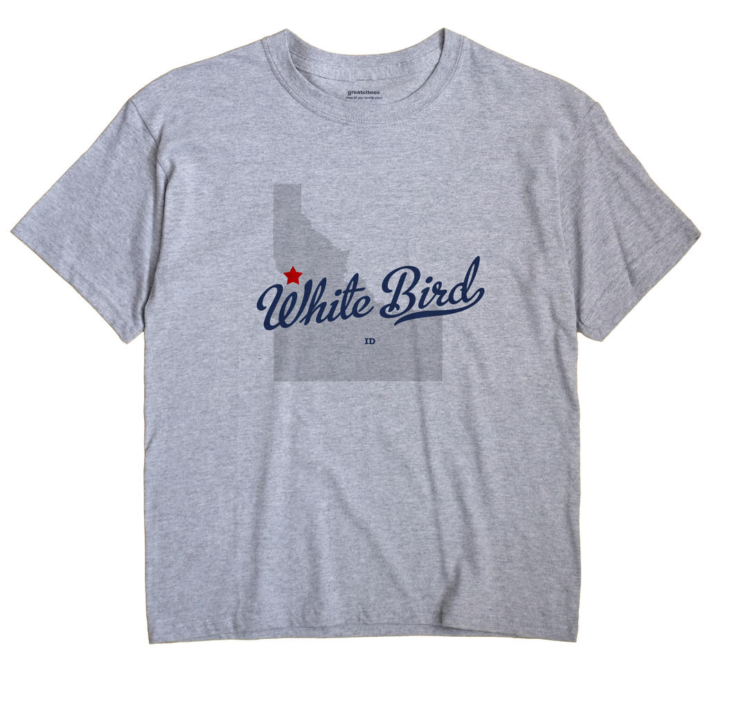 White Bird, Idaho ID Souvenir Shirt