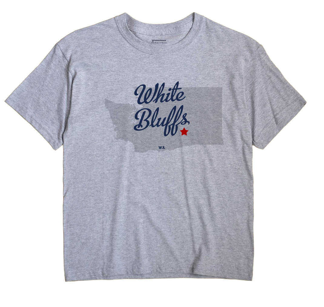 White Bluffs, Washington WA Souvenir Shirt