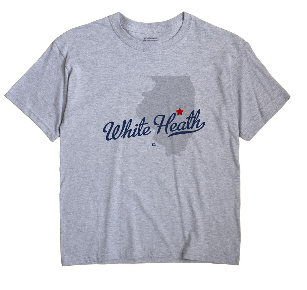 White Heath, Illinois IL Souvenir Shirt