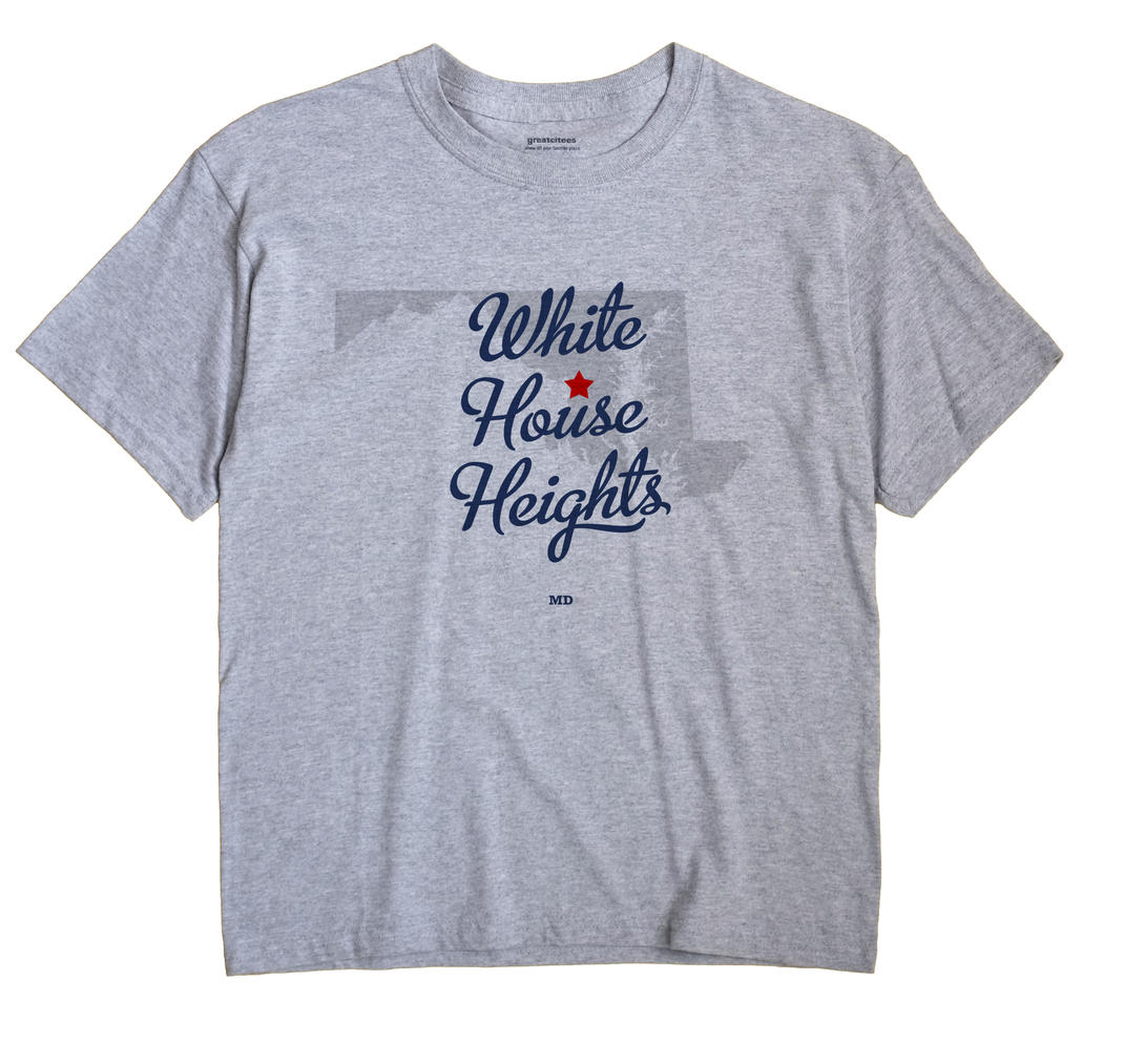 White House Heights, Maryland MD Souvenir Shirt