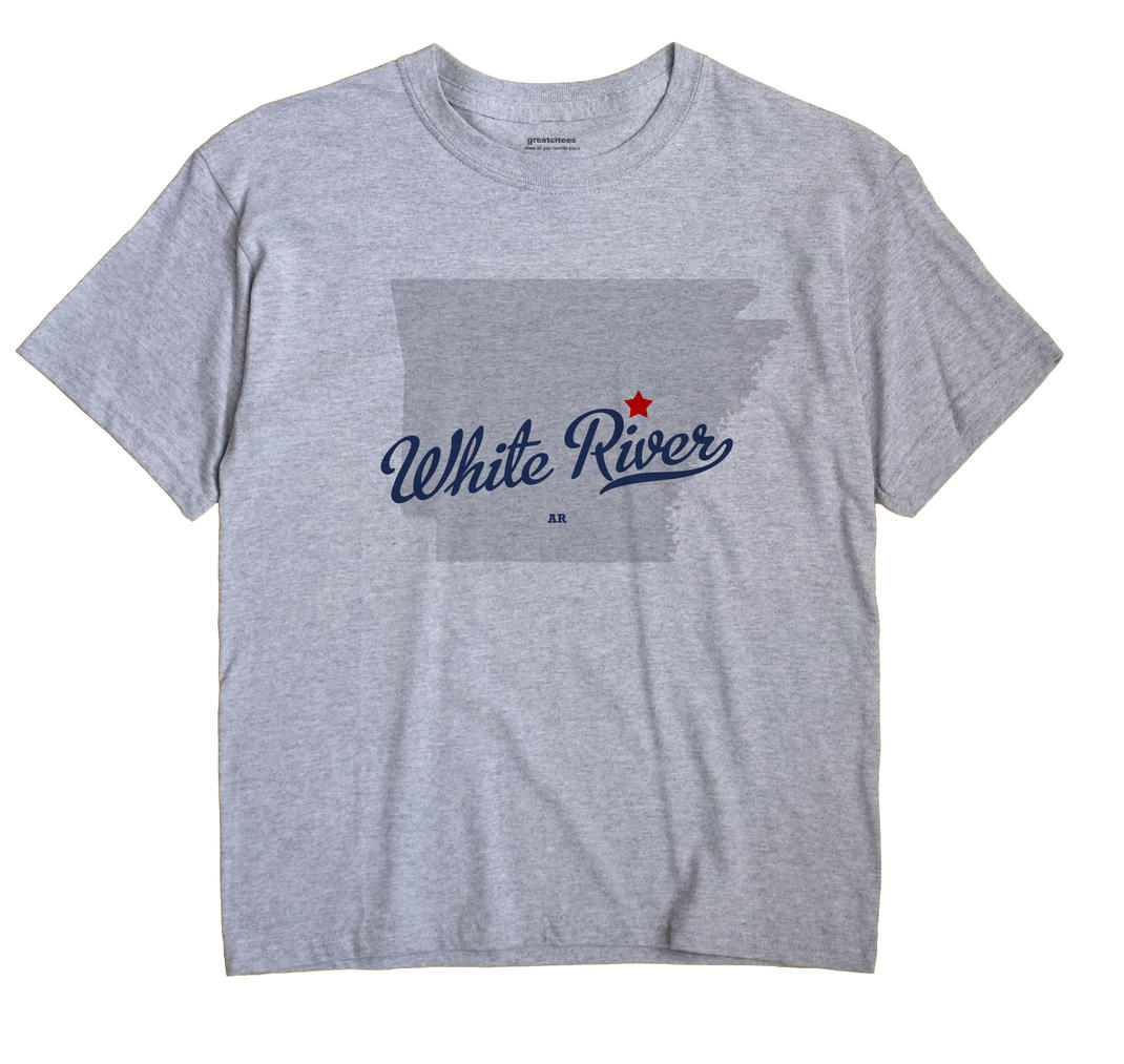 White River, Prairie County, Arkansas AR Souvenir Shirt